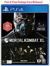 Mortal Kombat XL PS4 Playstation 4 Brand NEW & Sealed