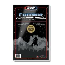 """1 Case of 1000 BCW Current Modern 6 3/4"""" Comic Book Backing Backer Boards"""