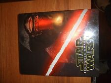 Star wars force awakens blu ray steelbook 3 disc set DVD MISSING!!