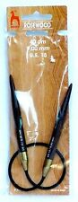 New in Package!!  PONY Rosewood US 13 / 9.0 mm  40 cm Circular Knitting Needles