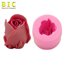 3D Rose Silicone Mold Soap Candle Making Craft DIY Cake Chocolate Candy H1724