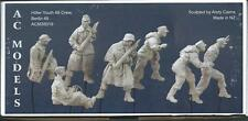 AC Models German 88 Crew 7 figures NO scenic base WW2 1/35th Unpainted kit