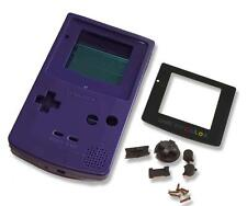 Game boy gameboy color gbc violet coque etui case housing w écran & outils uk