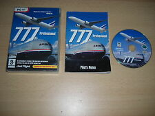 777 Professional Pc DVD Rom Add-On Flight Simulator Sim 2004 FS2004