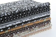 14Pc Cotton Fabric Bundle Creative Patchwork DIY Quilting Sewing Craft Scrapbook