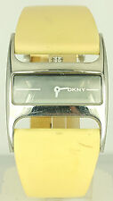 DKNY NY4135 LADIES WATCH NY-4135 White Cuff Leather WristWatch NY 4135 230407