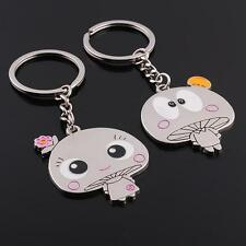 Adiz Collections Creative New 3D Cartoon Couple Key Chain Gift Set
