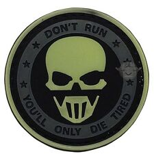 New! Tru-Spec Five Star Gear Morale Patch, Glow - Don't Run Ghost, 6733000
