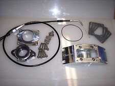 Chariot Banshee 2 into 1 Intake Kit With Cable 30-35 carb