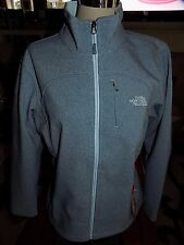 NWT Women's THE NORTH FACE Apex Bionic Softshell Jacket Cool Blue Heather LARGE