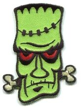 FRANK THE CRANK von spoon EMBROIDERED IRON-ON PATCH frankenstein FREE SHIP fdp57