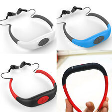 MP3 Player 8GB Waterproof Sport Headset FM Radio For Swimming Surfing Diving