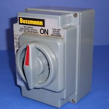 BUSSMANN 600 VAC 30A DISCONNECT SWITCH, BDNF30MS1 *NEW*