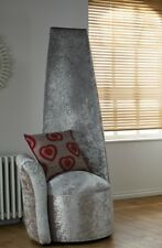 Tall High Back Potenza Chair Fabric Upholstered UK Made Bespoke