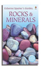 Rocks and Minerals (Usborne Spotter's Guide) By Alan Woolley,Mike Freeman