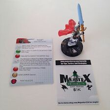 Heroclix Fear Itself set Thor #103 Limited Edition figure w/card!