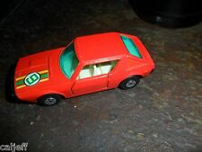 1974 MATCHBOX SUPERFAST DIECAST No 62 RENAULT 17 TL CAR LESNEY ENGLAND nr mint +