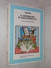 IL GIORNALINO DI GIAN BURRASCA Vamba Marina Paglieri Mondadori 1987 narrativa di