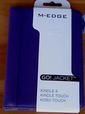 M-Edge Go! Jacket™ - Kindle 4 - Kindle Touch - Kobo Touch - BRAND NEW - Purple