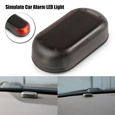 Solar/Power Car Dummy Alarm Warning Stimulated Anti-Theft Flashing LED Light RED