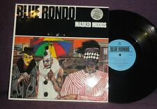 BLUE RONDO Masked Moods 12 inch single 1984 Virgin ‎VS 676-12 jazz funk smooth