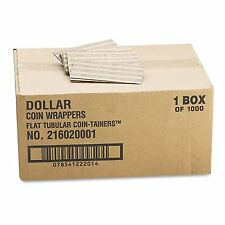 Coin Wrappers Dollar Paper 1000 ct per box 25 Dollars Per Roll Heavy Duty