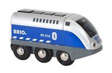 Holzeisenbahn Batterie-Lok Brio 33863 Blauer Oskar mit APP Steuerung Neu