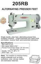 Consew 205RB HEAD ONLY Industrial Walking Foot Sewing Machine Big Bobbin