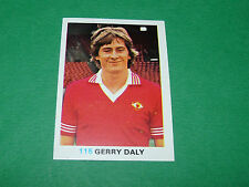115 DALY MANCHESTER UNITED FKS SOCCER STARS 1977-78 ENGLAND AGEDUCATIFS PANINI