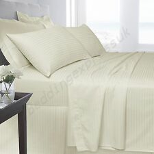 Luxury100%Egyptian Cotton 250 Thread Count Duvet/Quilt Cover set IN All UK Sizes