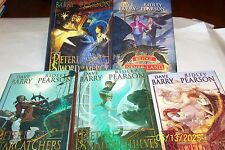Peter and the Star Catchers, 5vol., Ridley Pearson&Dave Barry,Greg call1st/1st