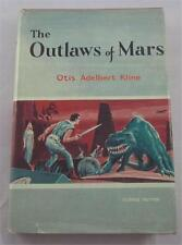 OUTLAWS OF MARS OTIS ADELBERT KLINE 1961 AVALON HARDCOVER 1ST ED DJ