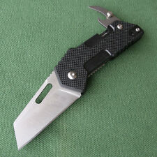 Sanrenmu High Quality Liner Lock Black G10 Handle 2.3oz ECD Folding Knife GB-T11