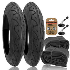 "2 x Pram REAR Tyres + Tubes - To fit 12 1/2"" x 2 1/4 QUINNY BUZZ [2-12CC/AP2/AA]"