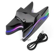 Dual USB LED Charger Station Charging Stand Dock for SONY PS4 Game Controller