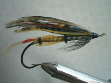 A VINTAGE 6/0 GUT EYED SALMON FLY 2ND FLY LISTED