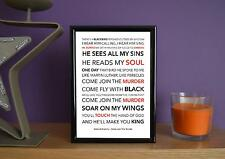 Framed - Sons Of Anarchy - Come Join The Murder - Poster Art Print - 5x7 Inches