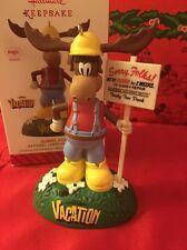 Christmas Hallmark Keepsake Magic Sound Lampoons Vacation Ornament New In Box Mo