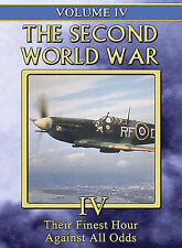Second World War, the - Vol. 4: Their Finest Hour/Against All Odds (DVD, 2005)