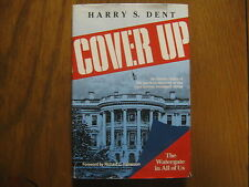 """HARRY  S.  DENT  Signed   Book   (""""COVER   UP""""-1986  First  Edition  Hardback)"""