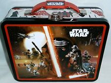"""STAR WARS Lunch/Carry All  Box   THE FORCE AWAKENS  7.50""""W X 6""""Tx 2.75""""D"""