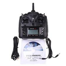 Walkera DEVO 7E 2.4G 7CH DSSS Radio Control Transmitter for Helicopter US O6Q9