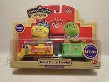 TOMY CHUGGINGTON WOODEN RAILWAY #56044 TOOTSI W/MUSICAL ICE CREAM CAR NEW IN PAK