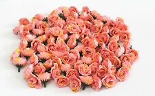 10pc pink+yellow Silk Flower Rose Wedding Birthday Party Home Table Decoration U