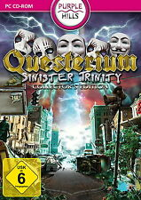 QUESTERIUM * SINISTER TRINITY * WIMMELBILD-SPIEL  PC CD-ROM