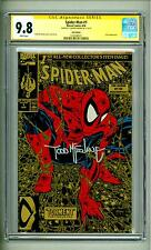 SPIDER-MAN #1 CGC 9.8 GOLD TORMENT 1990 SS TODD MCFARLANE SIGNED