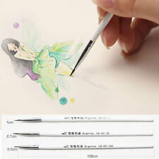 Weasel's Hair Brush Pen Nail Watercolor Line Pen Art Supplies Stationery