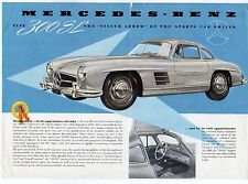 Mercedes-Benz 300 SL Gullwing 1954-55 UK Market Leaflet Sales Brochure