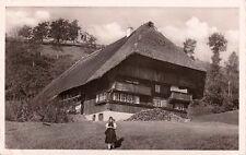 ALLEMAGNE DEUTSCHLAND GUTACH-SCHWARZWALDBAHN bauernhaus chaumière timbrée 1936