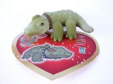Figurine RIGOBERTO ou DURILLIA le Crocodile + sa carte - Puppy  in my Pocket